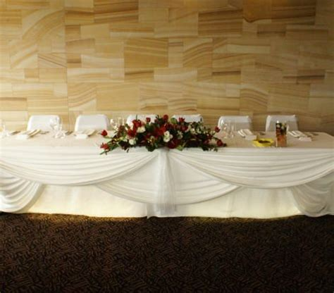 Table Draping - table draping cake rocket events