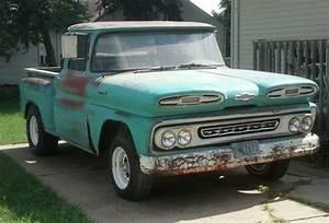 Purchase New 1961 Chevy Apache 10    Rare    Short Box