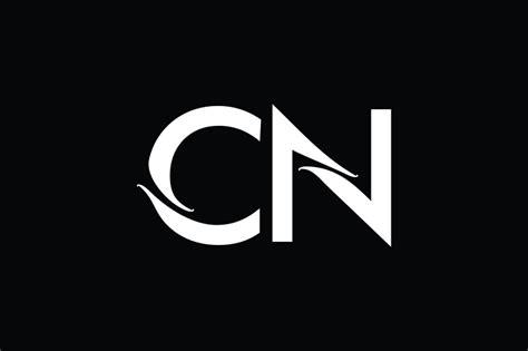 cn monogram logo design  vectorseller thehungryjpegcom