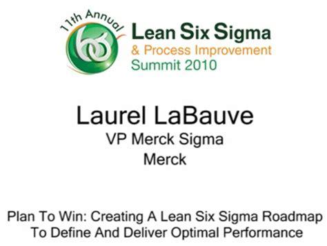 merck lean  sigma deployment  behance