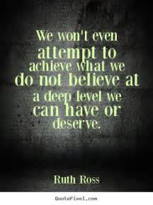 Inspirational Quotes About Deep