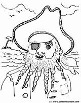 Coloring Pirate Blackbeard Pages Drawing Printable Getdrawings Getcolorings sketch template