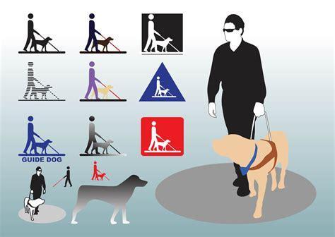 Guide Dog Vectors