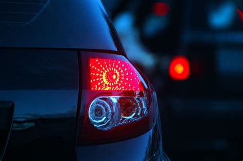 Brake Light On And While Driving by How To Replace A Rear Brake And Turn Signal Light Bulb