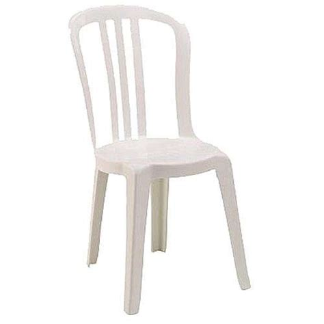 chaise bistrot resine