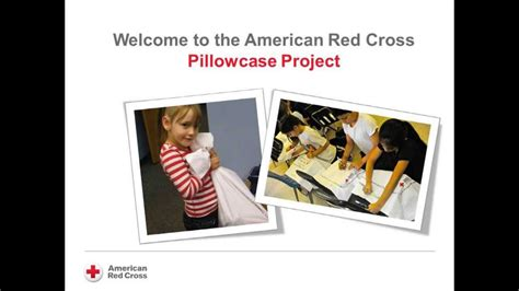 pillowcase project american red cross orlando pilot