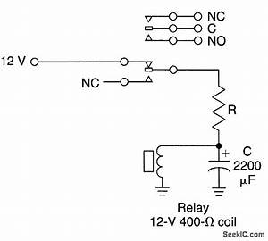 Low Frequency Relay Oscillator - Oscillator Circuit - Signal Processing