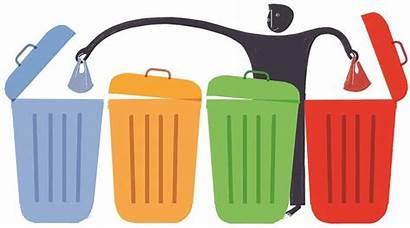 Waste Segregation Clipart Management Zero Environment Bharat