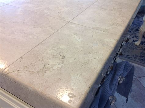is marble tile for kitchen countertops marble tile