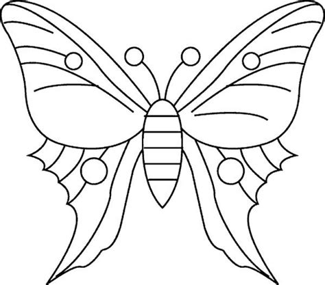 simple butterfly drawing coloring page  print  coloring pages   color