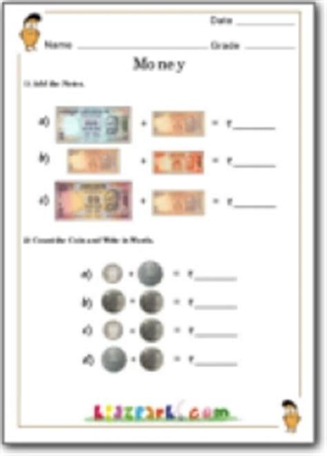 money counting worksheetteacher resource  worksheets