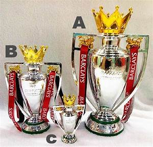 2014 Version Manchester 30cm British Premier League Trophy Soccer Football Replica Trophy Resin