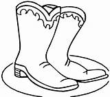 Boots Coloring Cowboy Boot Winter Drawings Colouring Clipart Clip Cartoon Printable Cliparts Fall Drawing Snow Template Autumn Arizona Library Dora sketch template