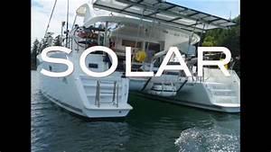 Solar Installation On A Lagoon Catamaran  Ep 17  Sailing