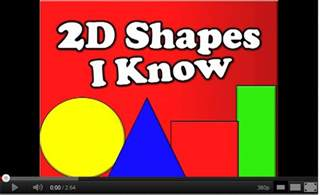 Harry Kindergarten Shapes