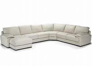 Carrera Leather Sectional With Chaise Natuzzi Furniture