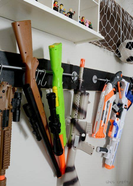 All products from nerf gun organizer category are shipped worldwide with no additional fees. Nerf Gun Organizer Ideas - Easy Craft Ideas