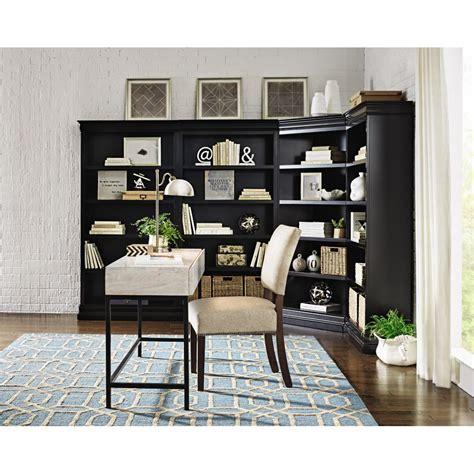 Corner Black Bookcase by Home Decorators Collection Louis Philippe Modular Black