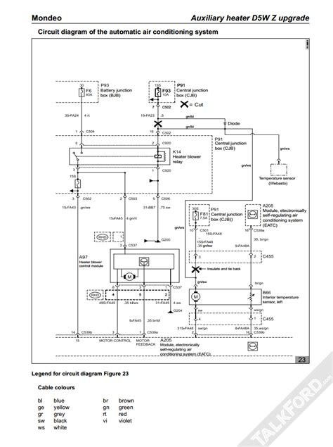 electrical diagram neeed electrical mk3 mondeo talkford