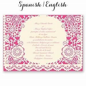 bandero festivo wedding invitation mexican wedding With traditional mexican wedding invitations