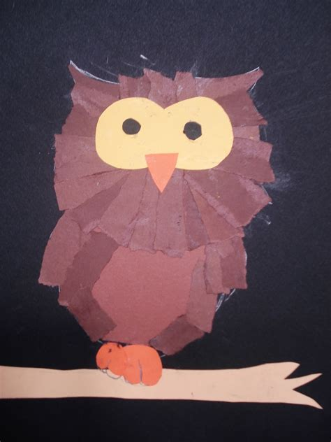 faithful attempt torn paper owls
