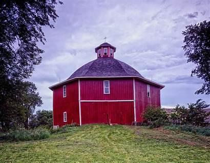 Barn Octagonal Secrest Michigan Iowa Octagon West