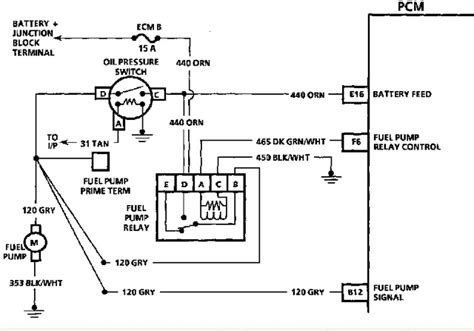 Delphi Fuel Pump Wiring Diagram