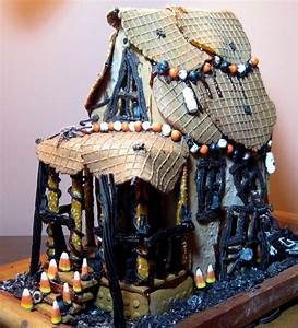 Top 17 Over-Size Halloween Gingerbread House Designs