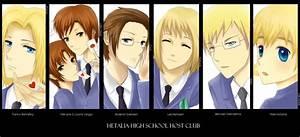 Hetalia High Host Club
