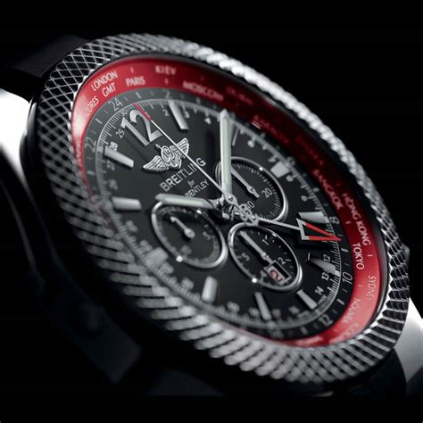 bentley breitling clock breitling celebrates new continental gt with gmt v8