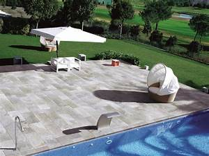 Carrelage Terrasse Piscine : ceramique pour terrasse exterieur evtod ~ Premium-room.com Idées de Décoration