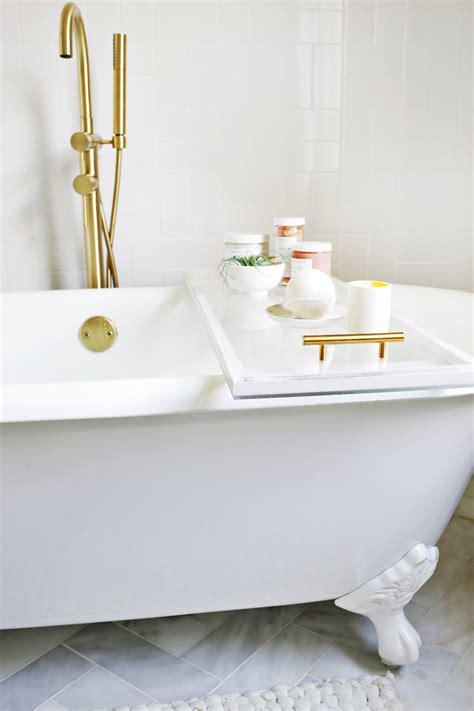 home interior design courses lucite bathtub caddy diy a beautiful mess