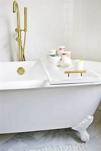 Lucite Bathtub Caddy DIY! – A Beautiful Mess