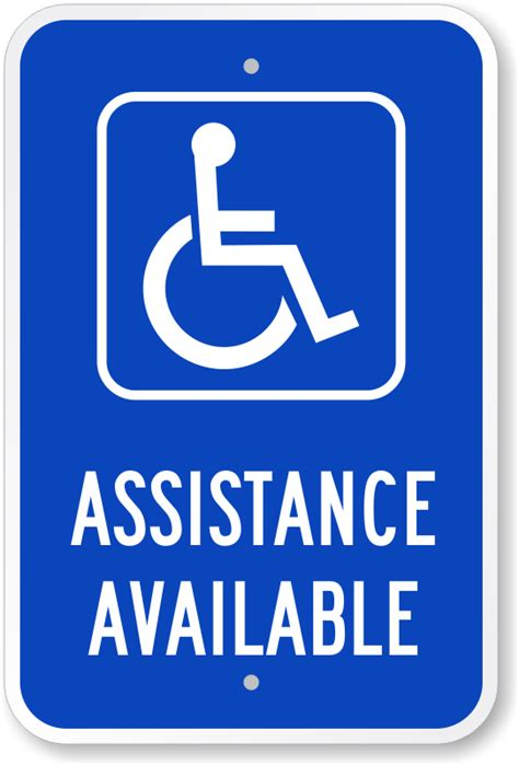 U Haul Self Storage: Handicap Parking Signs