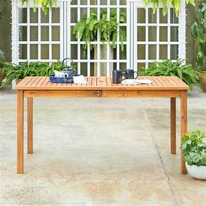 Brown, Rectangle, Acacia, Wood, Simple, Outdoor, Dining, Table-hdwsdtbr