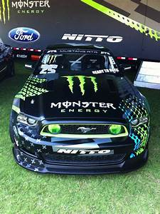 The Monster Energy Drift Mustang at the Fabulous Fords ...