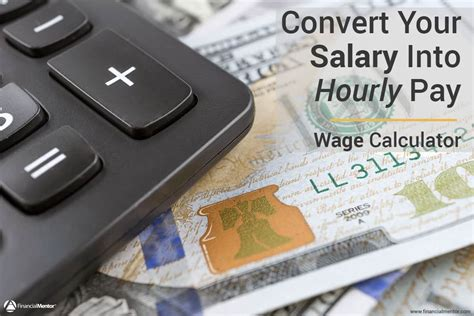 wage calculator convert salary  hourly pay