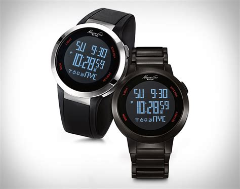 Kenneth Cole Touchscreen Watch Is Sleek & Stylish