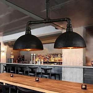 Luminaire Style Industriel : luminaires eclairage lustres trouver des produits lustre sur hypershop ~ Teatrodelosmanantiales.com Idées de Décoration