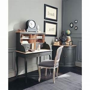 Bureau Maison Du Monde : meuble d 39 angle gris chenonceau maisons du monde classique chic pinterest mobilier de ~ Teatrodelosmanantiales.com Idées de Décoration