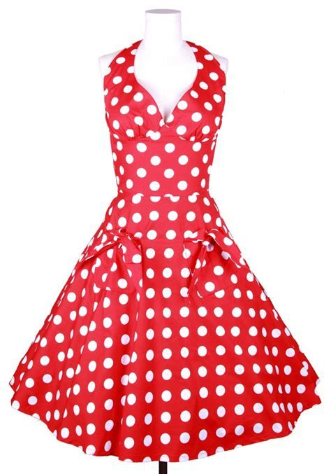 Dress: 50s style, 50s style, 50s style, polka dots
