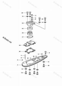 Yamaha Jet Drive Pump Parts F40jeha Oem Parts Diagram For Water Pump Adapter F40j