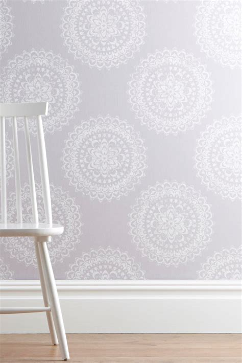 wallpaper designs for kitchens buy intricate lace medallion wallpaper from the next uk 6972