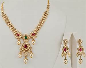 Latest Gold Necklace Designs In Grams Pachi Necklace ...