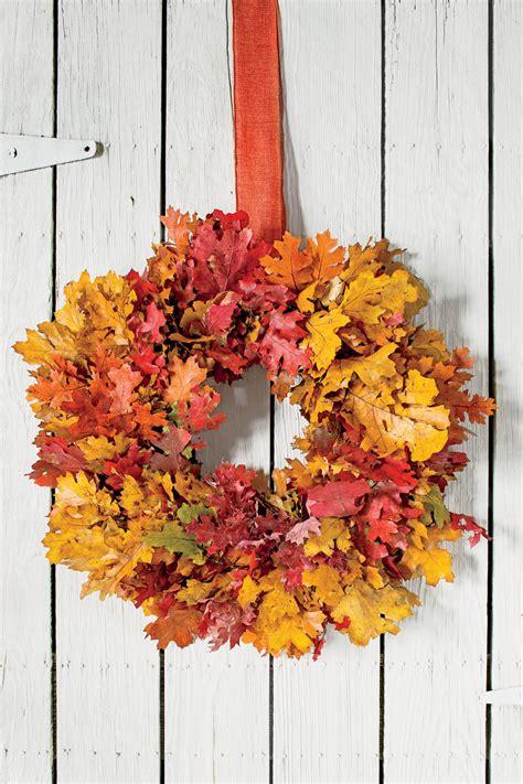 autumn wreath ideas fall wreath ideas southern living