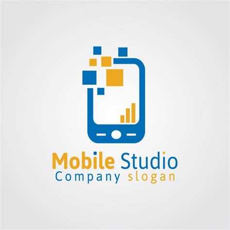 Mobile Studio Logo Vector  Free Download