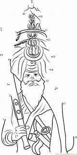Sikh Sikhism Pagri Dot Printable Connect Dots Worksheet Pdf sketch template