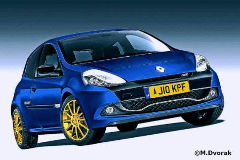 neuer renault clio williams autobildde