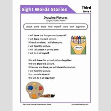 Reading Worksheets Resources