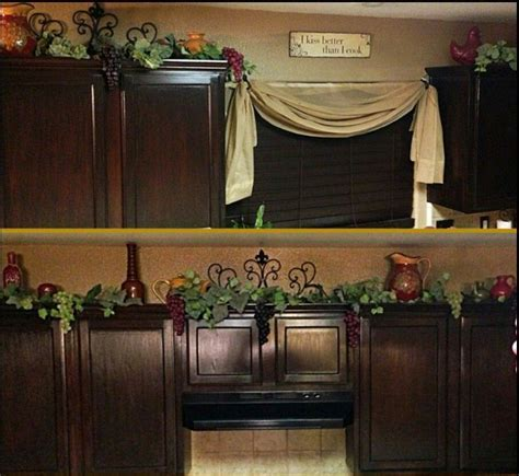 vine for cabinets. wine theme ideas for my kitchen   Home